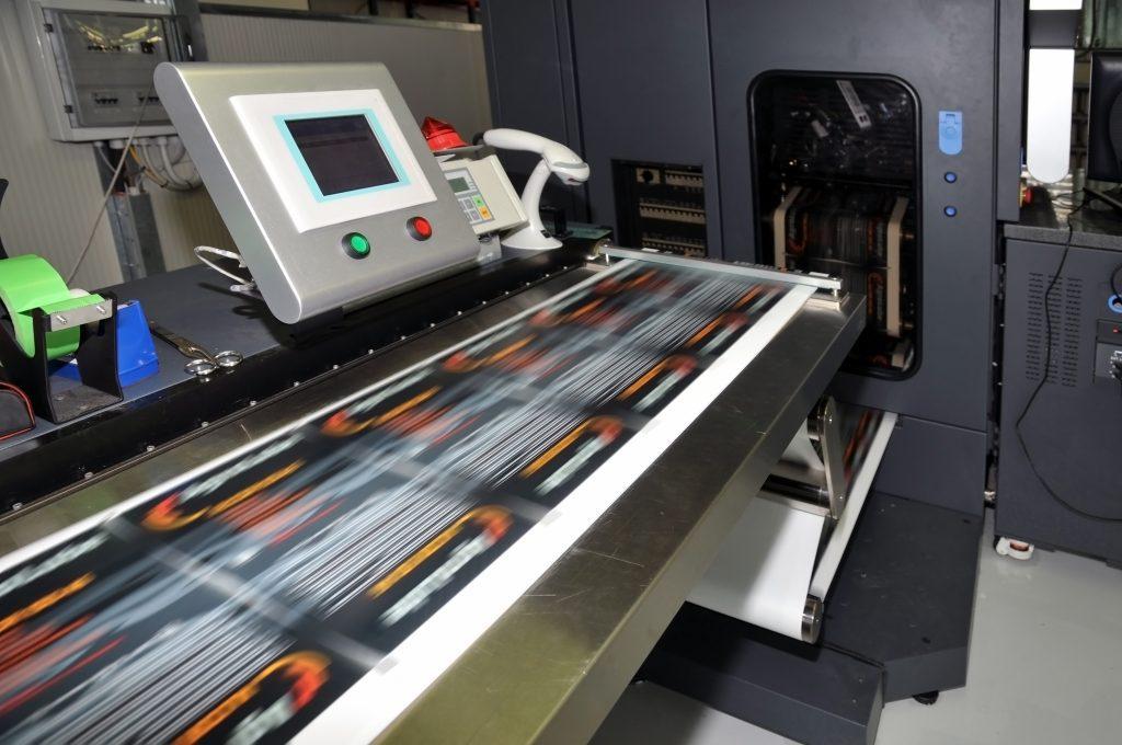 Printing press small