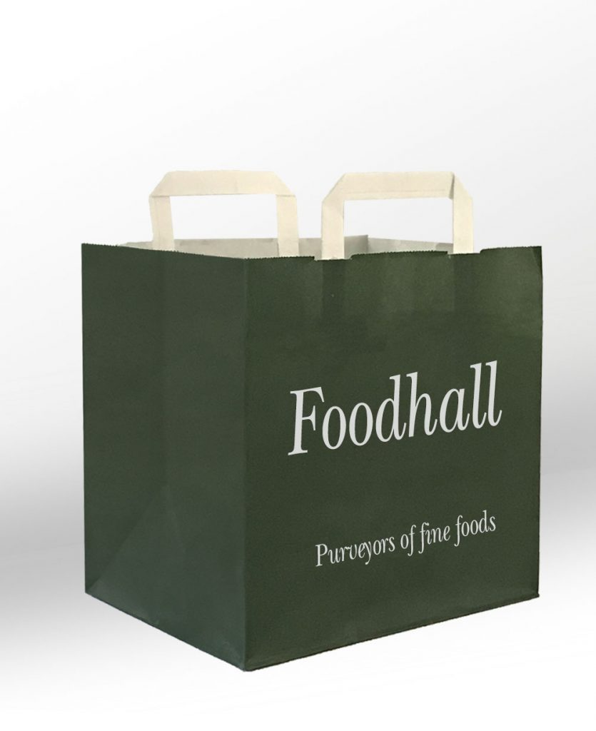 Green foodhall bag