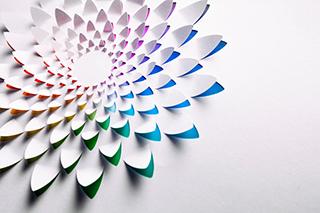 papírový sáček design