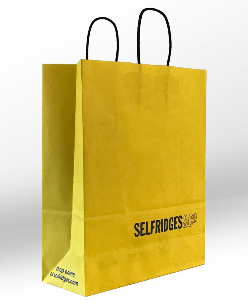 Selfridges paper bag