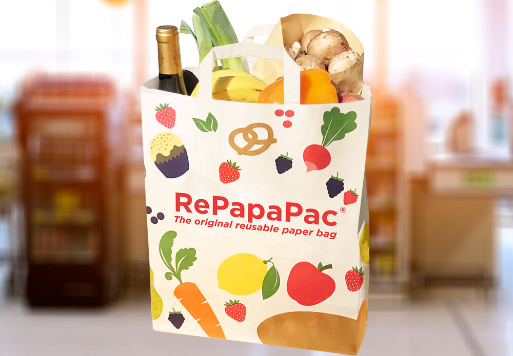 Repapapac - reusable paper bag