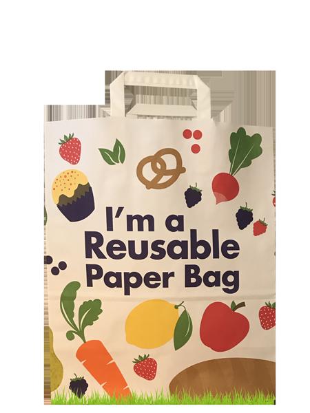 RePapaPac reusable paper bag