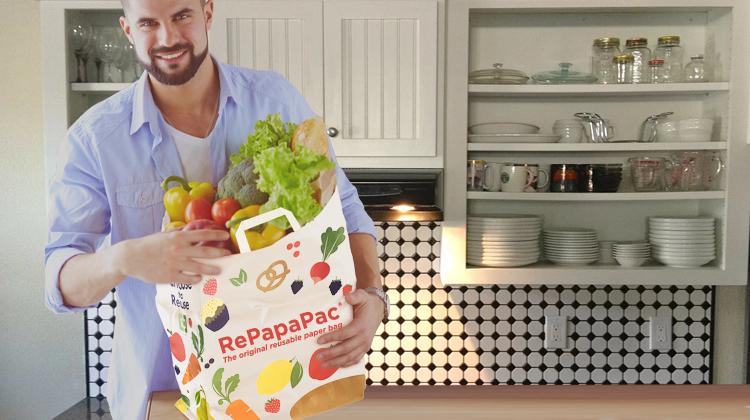 RePapaPac strong reusable paper bag