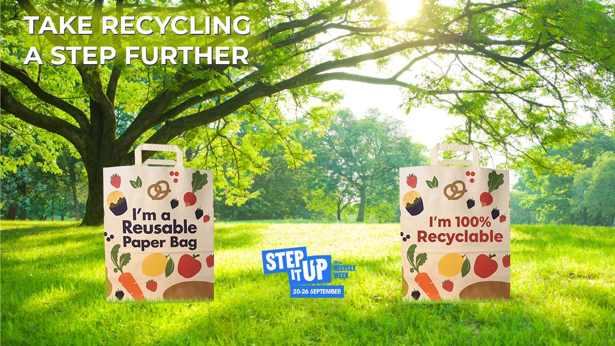 Step it Up Recycle week